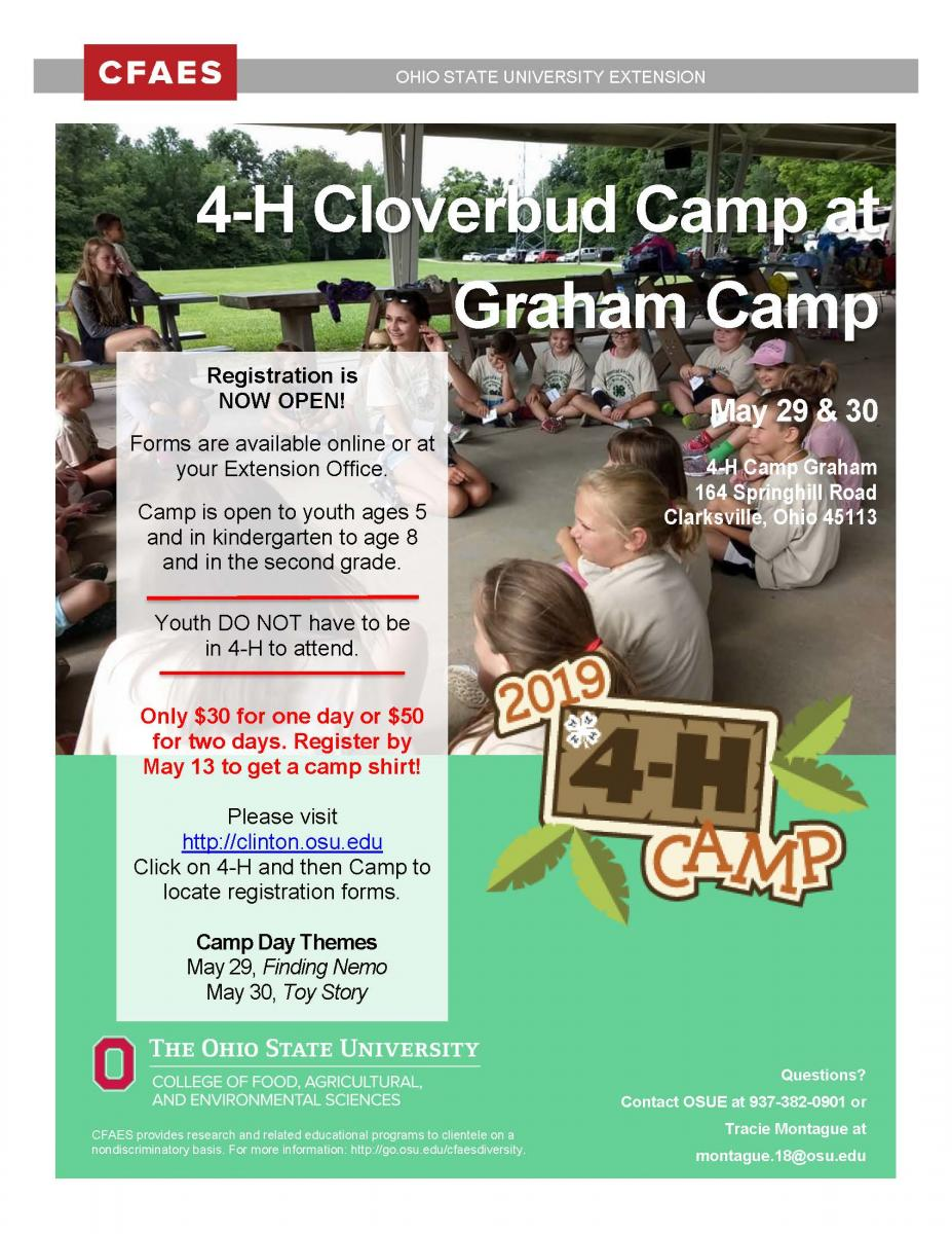 Cloverbud Camp 2019