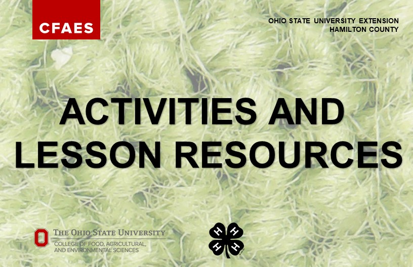 Activities and Lesson Resources