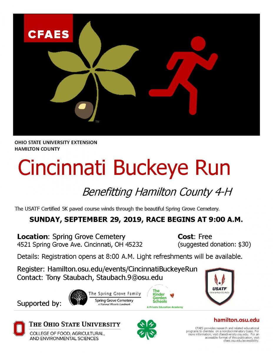 Cincinnati Buckeye Run Flyers