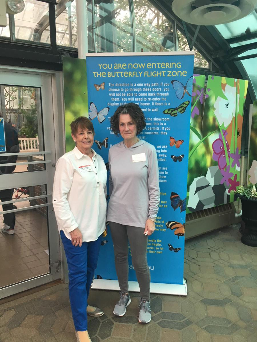 Master Gardener Volunteers at the Butterfly Show